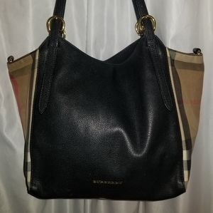 Authentic Burberry Canter tote